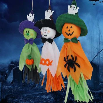 Halloween decoration ghosts pull the ghost Festival props pendant pumpkin [114654248990]