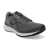 Brooks Mens Ghost 12 Running Shoe 10 Wide Black/Pearl/Oyster