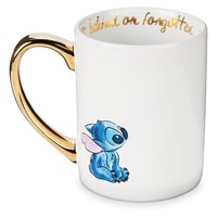 Disney Parks Stitch Ohana Means Family Ceramic Coffee Mug New