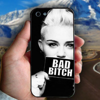 Miley Cyrus Bad Bitch - Print on hard plastic case for iPhone case. Select an option