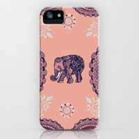 Bohemian Elephant iPhone & iPod Case by Rskinner1122