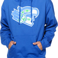Casual Industrees 12th Man Blue Pullover Hoodie at Zumiez : PDP