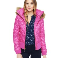 Quilted Puffer Jacket by Juicy Couture