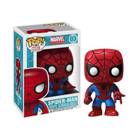 Spiderman Pop Heroes Bobblehead Vinyl Figure