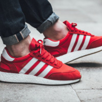 NMD Ultra Boost NMD Ultra Boost NEW MENS ADIDAS INIKI BOOST RUNNER SIZE 10 BY9728 RED FOOTWEAR WHITE GUM NMD