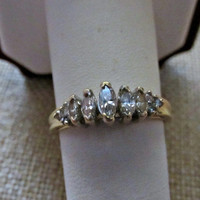 14k Diamond Anniversary Ring 2/3ctw 2.8g Size 8