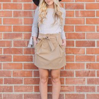 Helena Tan Paperbag Skirt
