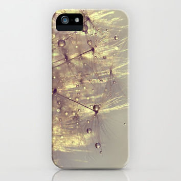 sparkles of gold iPhone Case by ingz