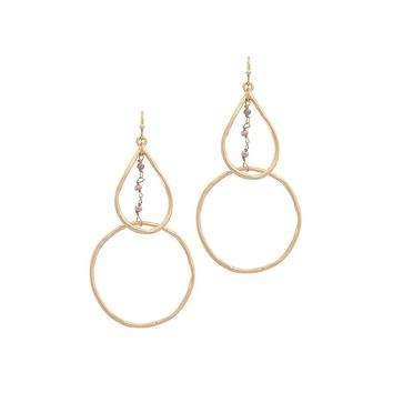 Circle Framptom Earrings