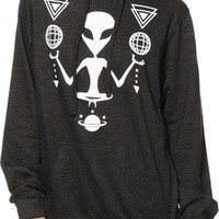 A-Lab Alien Chillin Glow In The Dark Hoodie