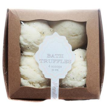 Vanilla Coconut Bubble Bath Truffles