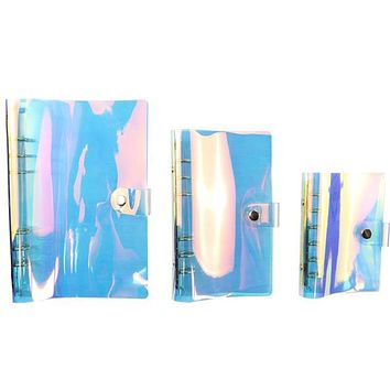 Holographic Notebook Cover