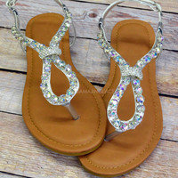 Waterford Silver Sandal