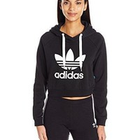adidas Originals Women's Crop Hoodie