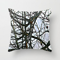 Trees, Nature, Renewal, Spring, Transition - Decorative Throw Pillow Cover, 3 Sizes Available - Home, Newlyweds, Gift - Made To Order-RNL#81