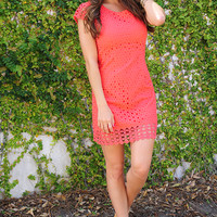 Way You Look Tonight Dress: Coral
