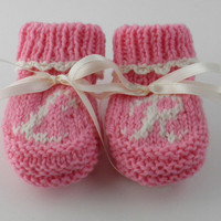 Monogramed Children's Shoes Personalized Baby Girl Shower Gift