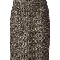 Giambattista Valli tweed sight midi skirt