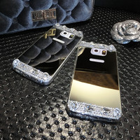 Luxury Mirror Phone Case For Samsung Galaxy S7 /S7 Edge / iPhone 6S / iPhone 6S Plus