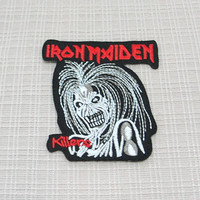 Iron on patch. Iron Maiden patch
