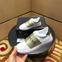 Givenchy Women's Leather Fashion Low Top Sneakers Shoes