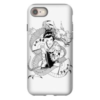 japanese dragon iPhone 8