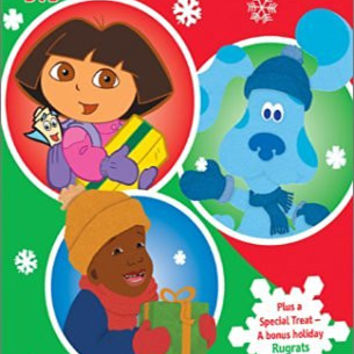 Nick Jr. Holiday DVD Sampler (Dora the Explorer/Blue's Clues/Little Bill/Rugrats)