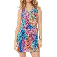 Lilly Pulitzer Betty Silk Racerback Tank Dress