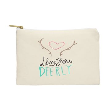Allyson Johnson Love you deerly Pouch