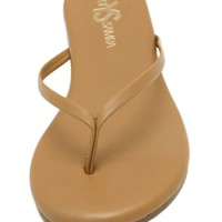 Roee Leather Sandals - Whiskey Brown