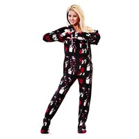 KISS Do You Love Me Onesuit PJ's for Adults   World's Best Pajamas