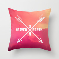 Heaven on Earth Throw Pillow by Josrick | Society6