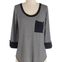 ModCloth Mid-length 3 Ready to Relax Top