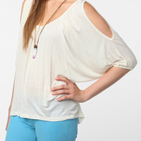 Urban Outfitters - Daydreamer LA Cold Shoulder Oversized Tee