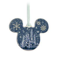 Mickey Icon Ornament - Fantasyland Castle