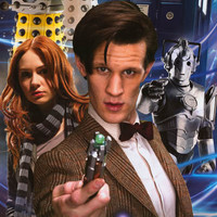 Doctor Who Eleventh Doctor Cast Poster 24x36