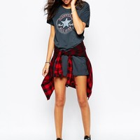 Converse | Converse T-Shirt Dress With Large Front Logo at ASOS