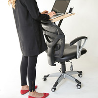 Transform Your Chair into a Healthy Standing Desk - Most Affordable