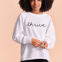 Aerie x Yara City Sweatshirt, White