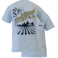 Southern Couture High Priority King Cotton Pocket Unisex Bright T Shirt