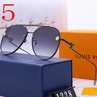 Louis Vuitton LV Fashion Women Summer Sun Shades Eyeglasses Glasses Sunglasses