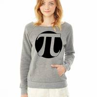 pi ladies sweatshirt