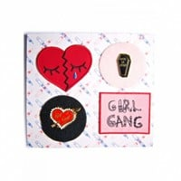 LUV SUXXX PIN & PATCH SET