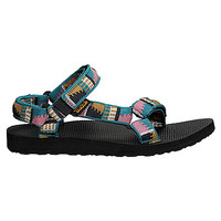 Teva Original Universal | Women's - Peaks Teal - FREE SHIPPING at OnlineShoes.com