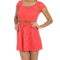 Crochet Lace Sweetheart Dress | Shop Just Arrived at Wet Seal