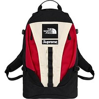 Supreme x The North Face co-branded men's trend versatile sports backpack #2