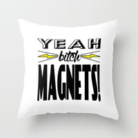Science Pillow Scientist Chemistry Art Throw Quote Pillowcase Cover Magnet, Breaking Bad Black White Yellow Humor Funny Home Decor TV Series