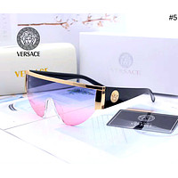 Versace new trend for men and women personality big box driving polarized sunglasses #5