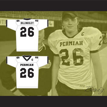 Garrett Hedlund Don Billingsley Permian High School Panthers Football Jersey Stitch Sewn New