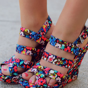 In the Bloom Wedge